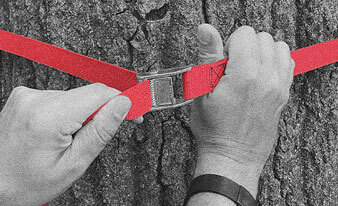 Wrap this must-have camping gear hanger it around any sturdy tree