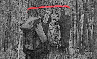 Stow your backpacking camping gear safely with must-have camping gear hanger